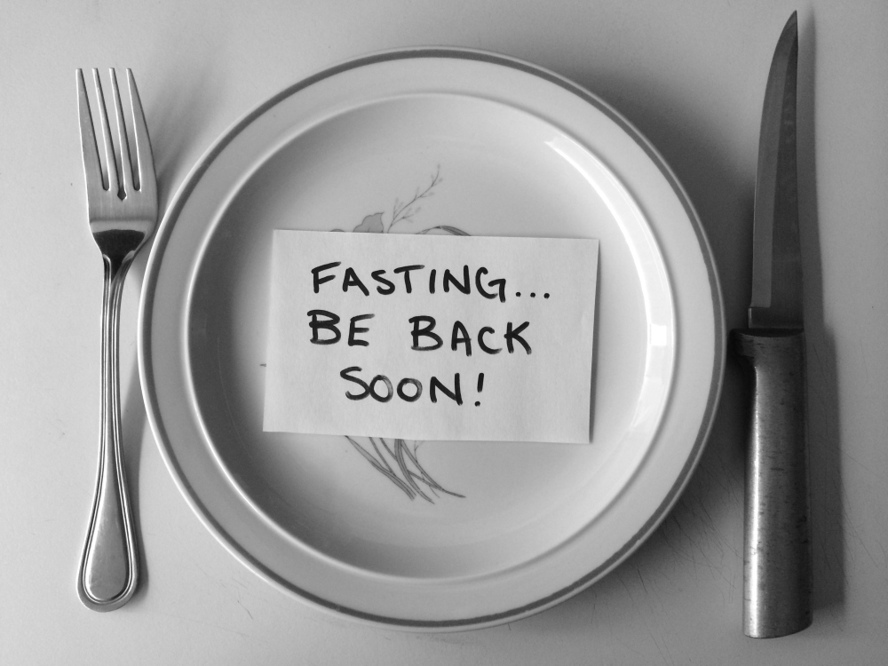 Fasting... be back soon | Rafa Farihah
