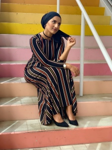 Rafa Farihah How to Style a Maxi Dress