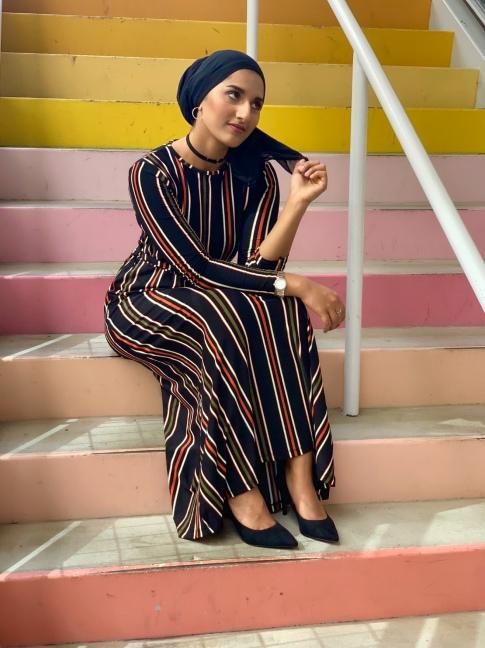 Rafa Farihah How to Style a Maxi Dress
